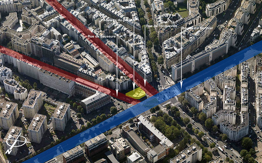 immeuble – logements – immeuble d'angle – Bleecker - Fulton – démolition station service – label HQE – BBC – label – effinergie - Carré d'Arch Architectes Associés