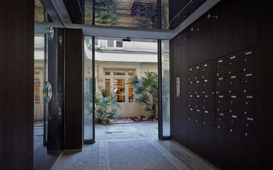 Bleecker – Fulton – bureaux – logement – hall - hôtel particulier – rénovation – réhabilitation – décoration – restructuration – patrimoine - ravalement - Carré d'Arch Architectes Associés