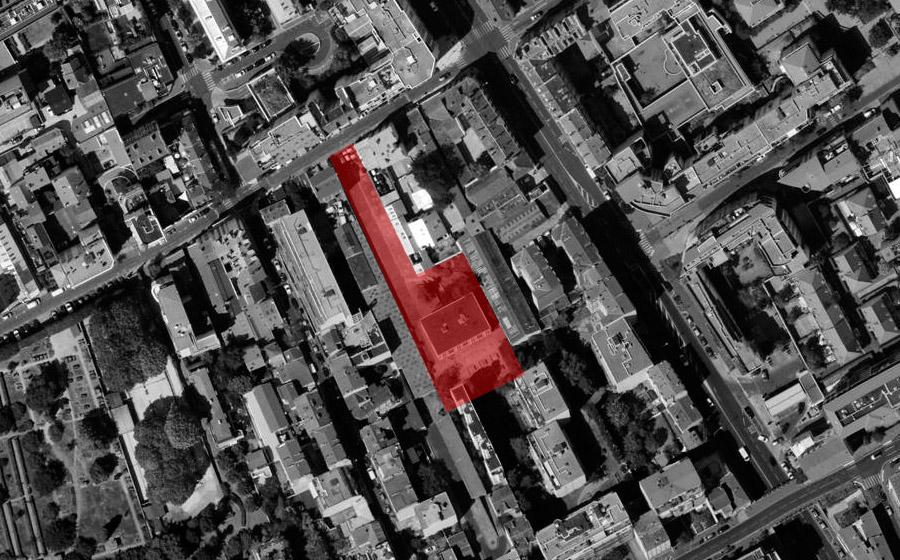 Courbevoie Lambrechts bureaux rooftop extension surélévation - Carré d'Arch Architectes Associés