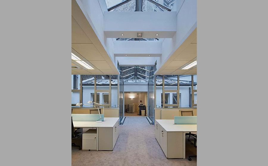 Bleecker – Fulton - bureaux - rénovation - réhabilitation – 48, 50 rue ampère - siège social - luxe - Lancel - immeuble haussmannien – hôtel particulier - Carré d'Arch Architectes Associés